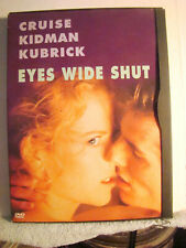 Dvd : 1999- Eyes Wide Shut- Tom Cruise -Nicole Kidman- Stanley Kubrick The