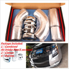 3'' Air Filter Turbo Intake Intercooler Piping Cold/ Hot Pipe Hose Aluminium Hot