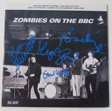 "THE ZOMBIES Signed Autograph ""Zombies On The BBC"" 45 rpm 7"" Single by All 4   LP"