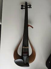 Yamaha YEV 104 Electric Black Finish 4-String Violin- With New Case, Bow, Rosin!