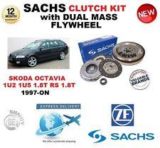 FOR SKODA OCTAVIA 1U2 1U5 1.8 T RS SACHS CLUTCH KIT 1997-ON with FLYWHEEL BOLTS