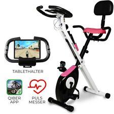 Cyclette Bicicletta Camera Fitness Ergometro Cardio con schienale, pieghevole 3