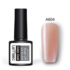 8ml LEMOOC Pure Glitter Nail Art Gel Polish Soak off UV Gel Color Salon UV LED