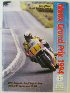 MANX GRAND PRIX 1994 Isle of Man Official Programme + Race Guide