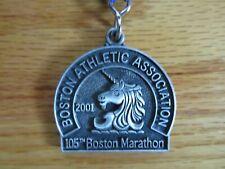 Rare 105th BOSTON MARATHON Apr 2001 FINISHER MEDAL Lee Bong-Ju Catherine Ndereba