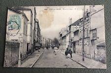 CPA. IVRY sur SEINE. 94 - Rue du Liégat. 1907.
