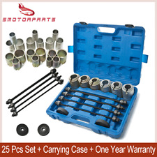 26 Pcs Universal Press & Pull Sleeve Bush/ Bearing /Seal Remove Install Tool Kit