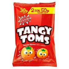 Golden Wonder Tangy Toms Tomato Sauce Flavour Corn Snacks 25g 36 Pack