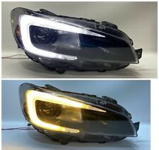 2015-2019 SUBARU WRX STI RH PASSENGER SIDE RETROFIT LED HEADLIGHT W/ C LED LIGHT