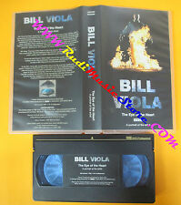 VHS film BILL VIOLA The eye of the heart 1996 limited ed. inglese (F123) no dvd