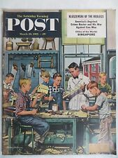 Saturday Evening Post Magazine  March 19,1955  Stevan Dohanos  GREAT VINTAGE ADS