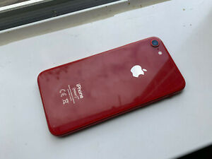 APPLE IPHONE 8 RED GOOD CLEAN USED CONDITION 64GB UNLOCKED AS PICS/DESCRIPTION