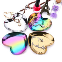 Heart shaped jewelry holder mold plate dish storage tray cosmetic organizer Vh
