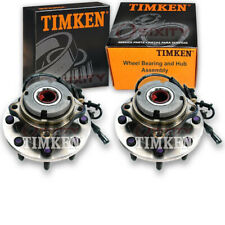 Timken Front Wheel Bearing & Hub Assembly for 2000-2005 Ford Excursion Pair qb