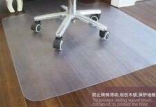 """New PVC Chair Mat 36"""" x 48"""" with Lip for Hard floors 2.00mm thick"""