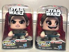 Disney Hasbro Star Wars Mighty Muggs Rey (Jakku) Lot of 2 Figures