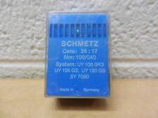 Schmetz Sewing Needles 100 Pk 26:17 100/040 UY 108 GKS UY 108 GS UY120 GS SY7080
