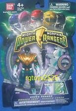 "Mighty Morphin Power Rangers Green New 4 "" Variant Light up Flyer TRANSPARENT"