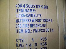Ultra-Cair Elite Mattress w/ Foot Drop & CPC Fire REtardant 36 X 84M FM-PCS-0014