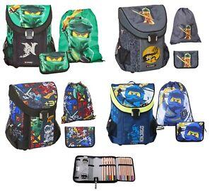 Lego Ninjago EASY Schulranzen Set 3tlg. mit Federmappe Schultasche 1. Klasse