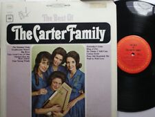 Country Lp The Carter Family The Best Of On Columbia