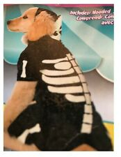 Halloween Skeleton Costume for Dog Jumpsuit Glow in the Dark S - L