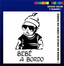 Sticker Vinilo - BEBE A BORDO - Vinyl - Car Tunnig - Pegatina - Coche - Moto