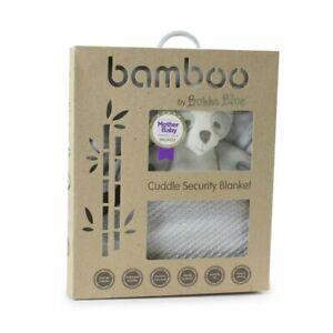 Bubba Blue Grey Bamboo Security Blanket
