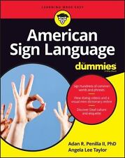 Signing for Dummies by Adan R., II Penilla and Angela Lee Taylor (2016,...