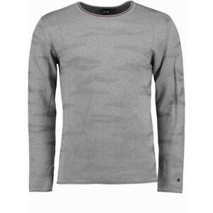 Herren Sweater Pullover Sweat-Shirt Camouflage Sport HAILYS men