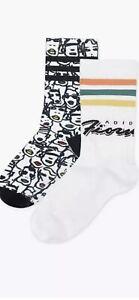 Adidas Originals x Fiorucci Socks (FL9637) Size Small