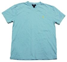 NEW - POLO RALPH LAUREN Men's V-NECK Marine Blue T-SHIRT - Small