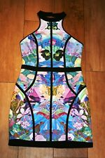 NEW! FINDERS KEEPERS party dress SIZE S 6 8 halter neck club occasion scuba prom