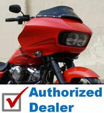 "Klock Werks 6"" Super Low Sport Flare Black Windshield 15-2020 Harley Road Glide"