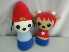 Parappa the Rapper and Umjammer Lammy HANDMADE Plush Stuffed Animal Toys