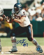 Chicago Bears Olin Krevtz  autographed 8x10 action  color Photo