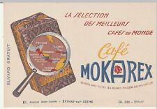 Buvard Café MOKAREX (épinay sur seine)