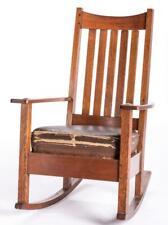 Arts & Crafts Limbert Rocking Chair Lot 824