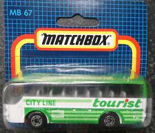 Matchbox MB 67 -City Line Tourist Bus   - mint in OVP#2725