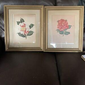 """Lila Moore Keen """"Camellia"""" Prints X2"""