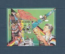 Guinée république  bloc  coupe du monde de football  Italie  1989  num : 91 **