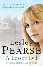 A LESSER EVIL by Lesley Pearse; Best-selling HARDBACK for a real bargain price!!