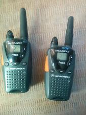 Motorola Talkabout FR50 2-Way Radio Walkie Talkie Set of 2 16 Channels
