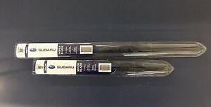 Subaru 2013-2017 Crosstrek Front Windshield Wiper Blade Set Genuine OEM Factory