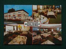 RESTAURANT HOTEL SCHILD RUHWARDEN POSTCARD