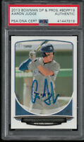 AARON JUDGE AUTO 2013 Bowman Draft Picks BDPP19 PSA/DNA Certified Rookie Card RC