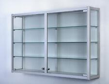 Wandvitrine, Für Sammler, für Museen, Showcase H80x125x25 W-8.125