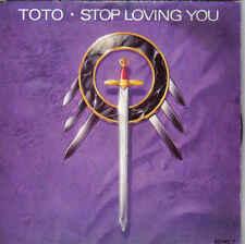 Toto-Stop Loving You vinyl single