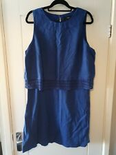 Ladies Next Dress Size 18 *Linen Blend*