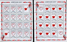 "2 KB.WITH Vignettes / ROMANIA 2001 ""MARTISOR"" MNH"